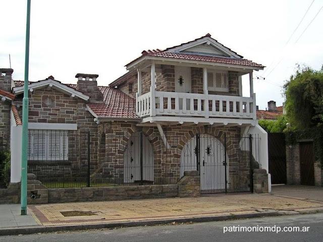 Chalet estilo Mar del Plata