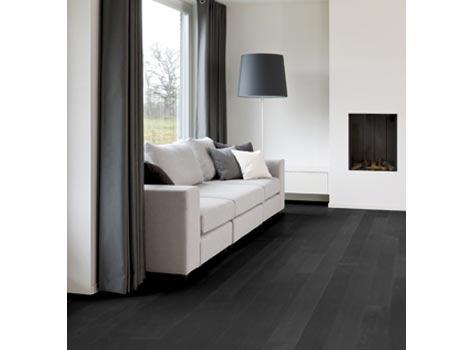 Lakke gulv med farge