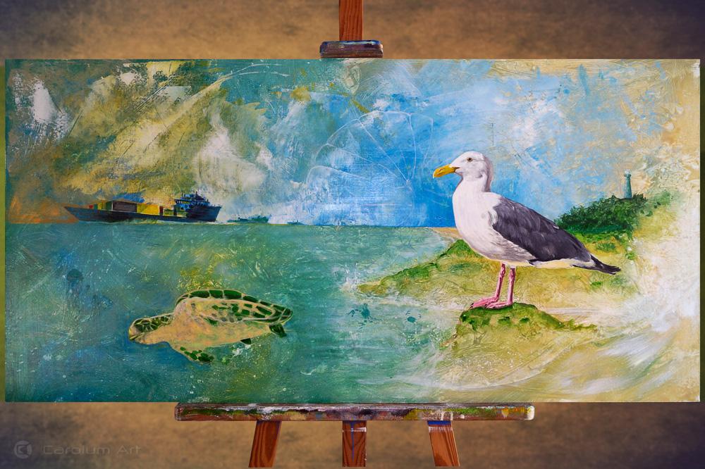 gaviota-costa-chemtrails-pintura-acrilicos