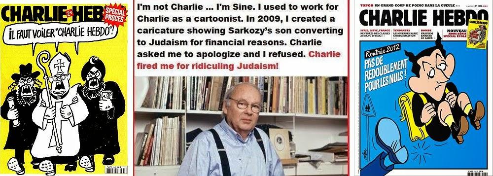 Maurice Sinet e sua demissão do Charlie por antissemitismo