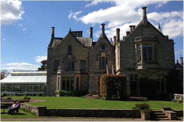 Exterior del Roxburghe Country House Hotel en Kelso