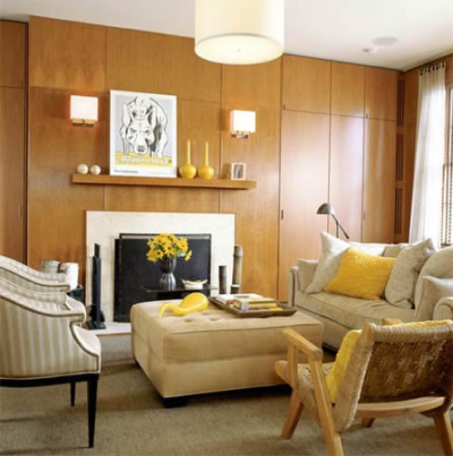 Room paint home decorating for Warm living room ideas