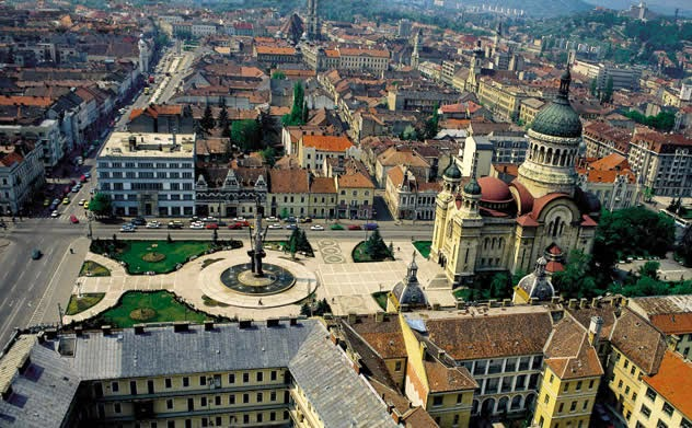 Historical center of Cluj