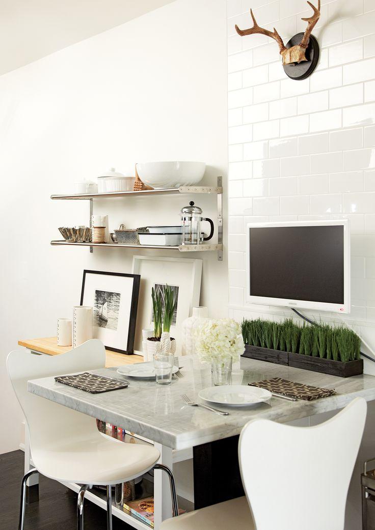 Living in designland inspiraci n peque as mesas de cocina for Mesas auxiliares para cocinas pequenas