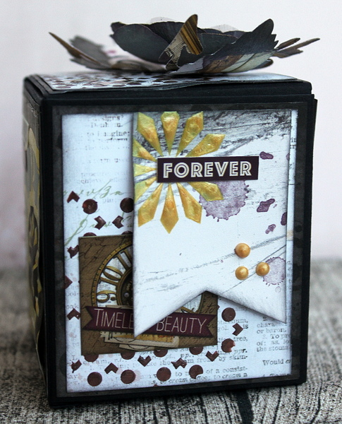 Dreambox Alter by Ulrika Wandler using BoBunny Beautiful Dreamer Collection