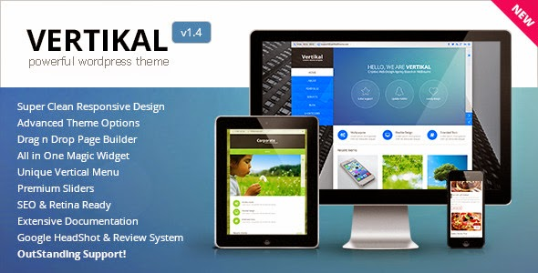 Vertikal v1.3 - Responsive WordPress Theme