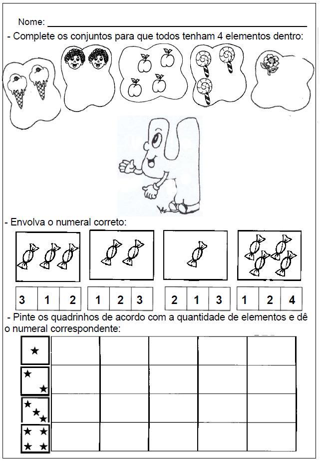 Populares Cantinho da Aprendizagem: Trabalhando com números naturais na  AD71