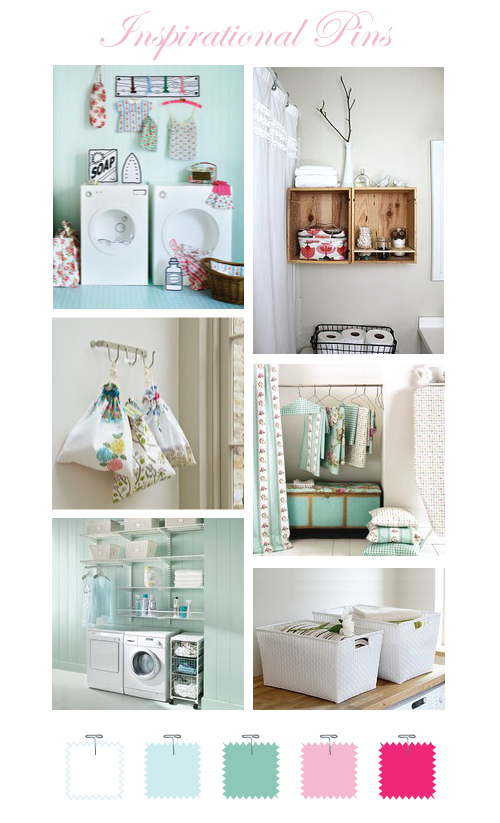 Laundry Room Storage by Torie Jayne