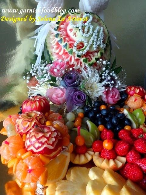 wedding buffet decoration