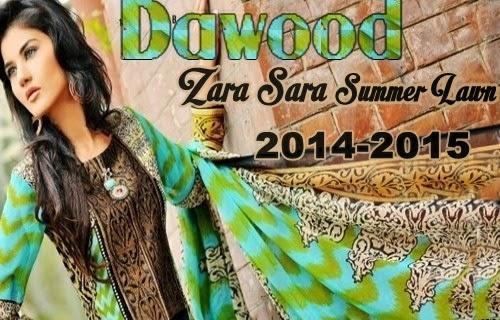 Dawood Zara Sara Lawn 2014