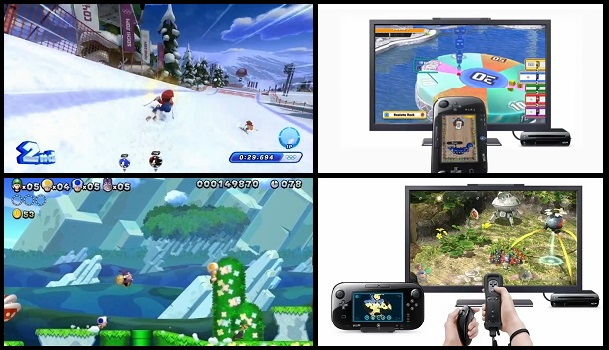 Images of Wii U games shown during Nintendo Direct on May 17th, 2013