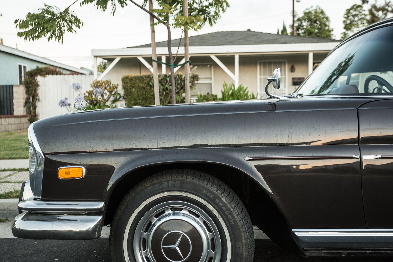 The street peep 1965 mercedes benz 220se for Mercedes benz marina del rey