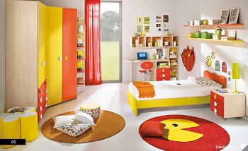 Desain Kamar Tidur Anak Full Color