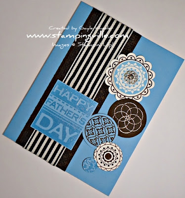 Father's Day Circle Circus & Punches by Stampin' Up!