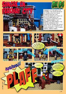 Brickómic 4: Sangre en Ferrari City (página 1 de 5)