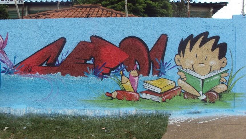 ELOM Graffiti Riacho Fundo 2