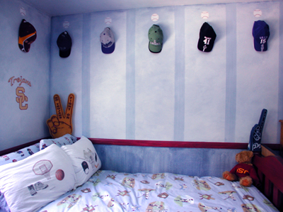 Little Boy Sports Bedroom Ideas