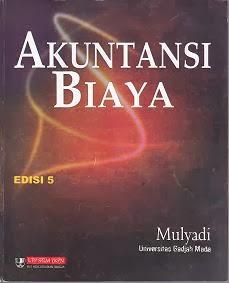 Akuntansi Biaya oleh Mulyadi