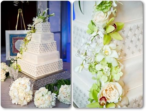 bröllopstårta, annorlunda bröllopstårta, bröllopstårta med blommor, wedding cake with flowers