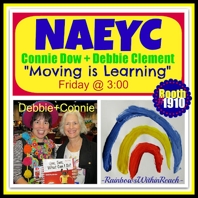 "photo of: NAEYC: Connie Dow + Debbie Clement ""Moving is Learning"""