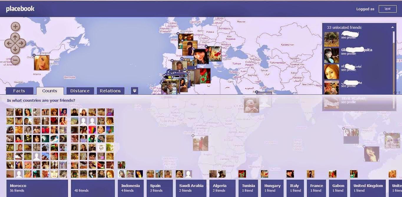 موقع لتحديد أماكن أصدقائك في الفيسبوك على الخريطة عبر ...