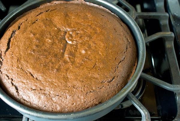 Resepi Kek Coklat Bakar