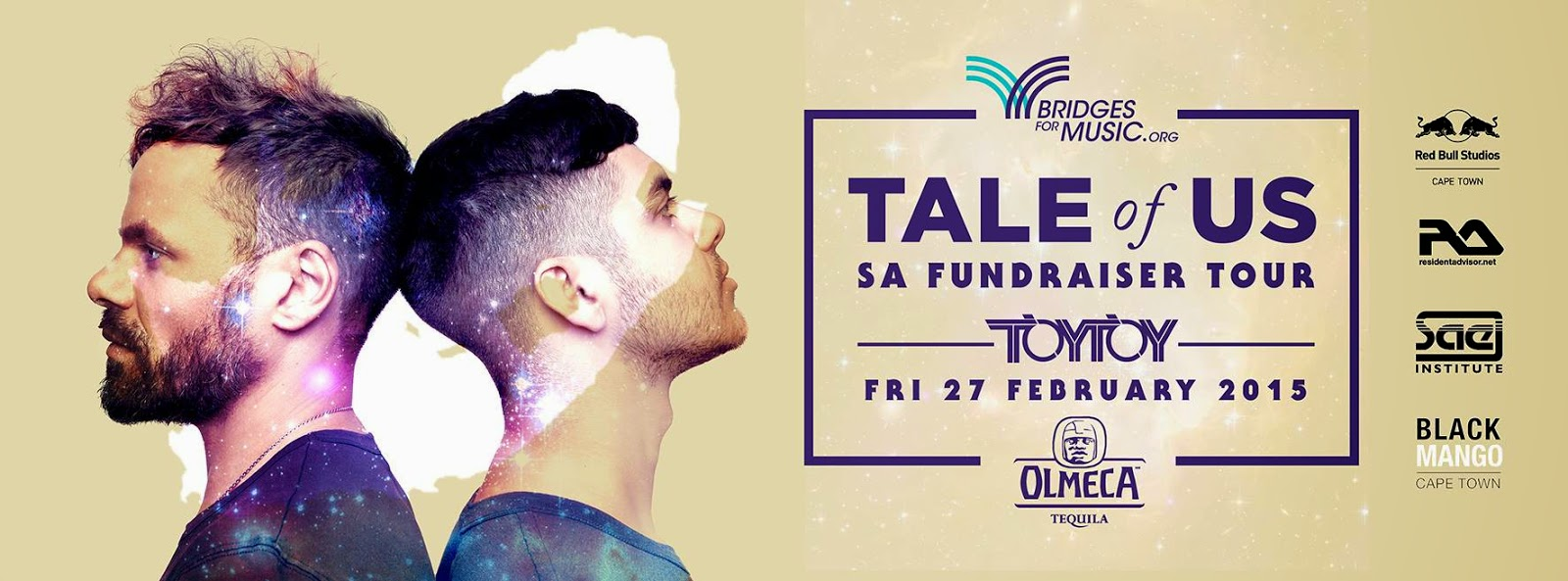 tale of us south africa tour 2015