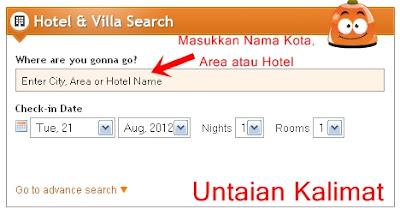 Pencarian Hotel