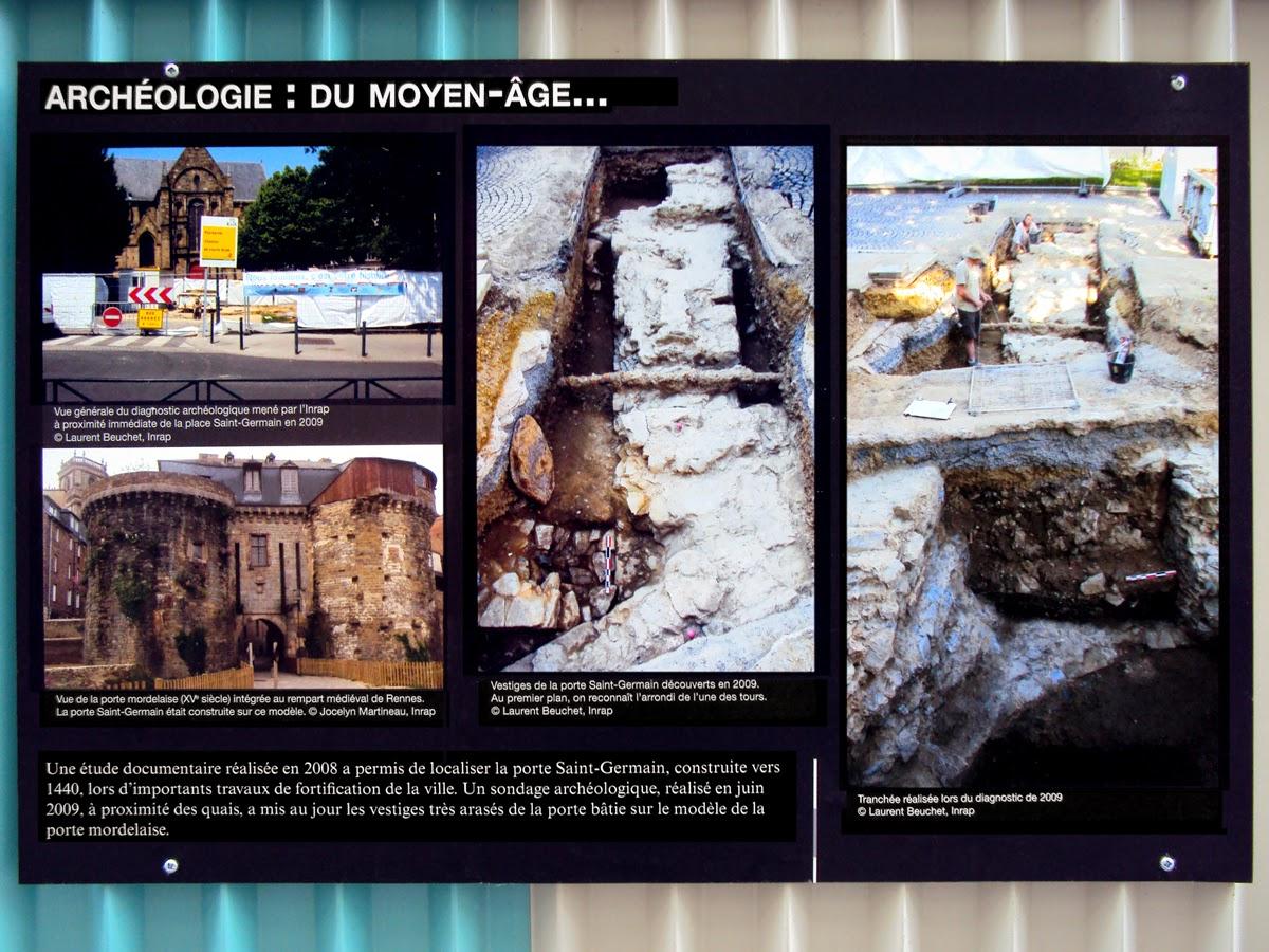 Archéologie : du moyen-âge...