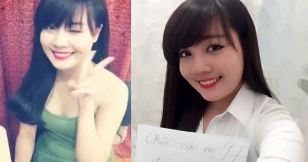 Nữ giám thị xinh nhất Vịnh Bắc Bộ' bị các nam sinh đi thi tán tỉnh