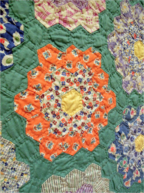 Quilt Inspiration Grandmothers Flower Garden