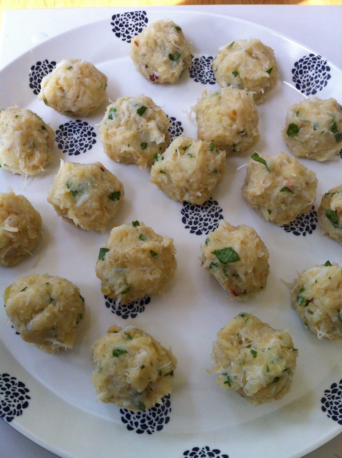salt cod and crab fritters   what is clara eating today?