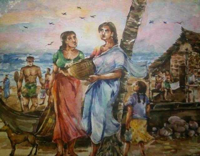 Индийский художник. Shreehari Manakkal