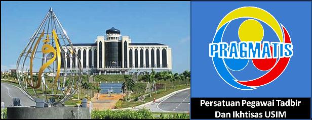 Selamat Datang ke Blog rasmi Persatuan Pegawai Tadbir Dan Ikhtisas USIM atau PRAGMATIS