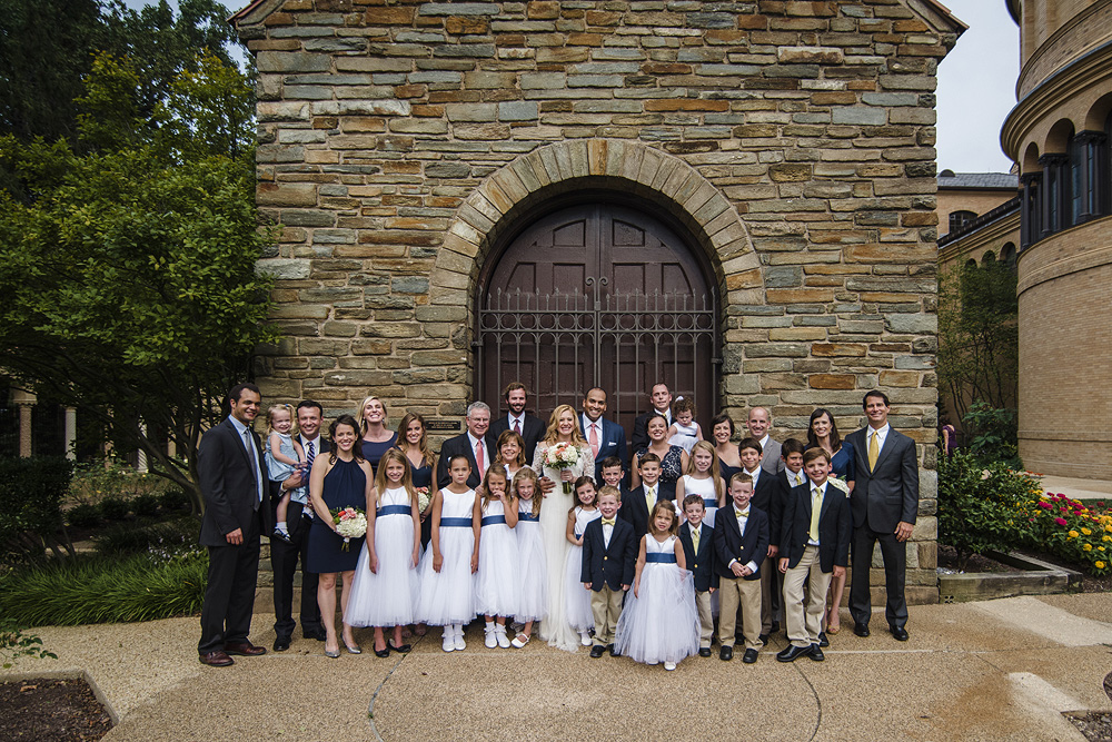 DC Wedding Photography at the Franciscan Monastery