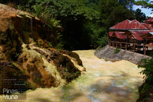 Mainit Sulfuric Hot Spring in Maco, Compostela Valley