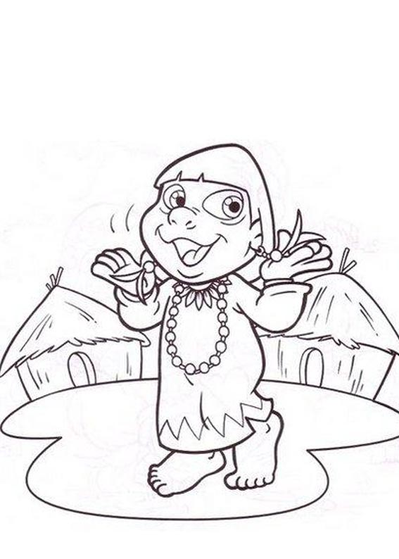 Desenho como desenhar Turma Cocorico pintar e colorir