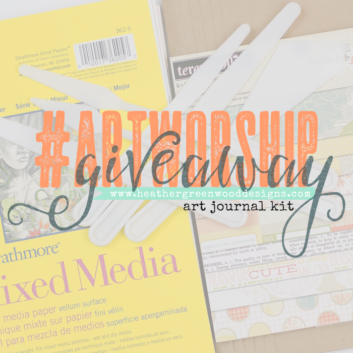 Heather Greenwood Designs Art Worship Giveaway