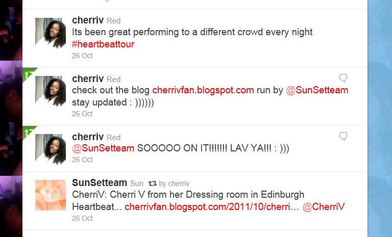 Cherri V still Luvs this Blog !