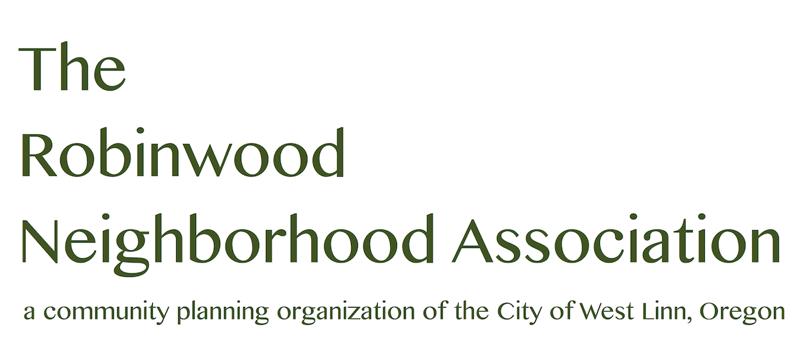 Robinwood Neighborhood Association