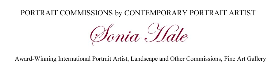 Contemporary Portrait Artists: Sonia Hale Commissioned Portraits, Oil Portraits
