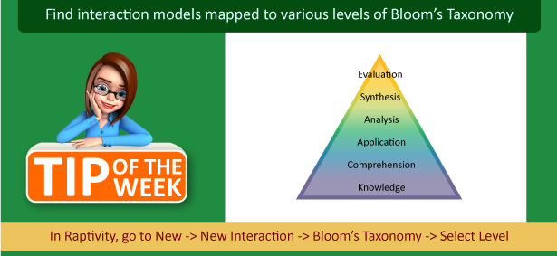Do you follow Bloom's Taxonomy while designing courses?