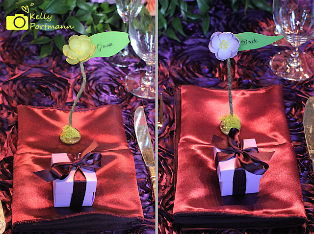 San Antonio Wedding Photographer, Purple Weddings, Place Cards,