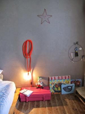 décoration chambre enfant, baladeuse en tissu, fait maison