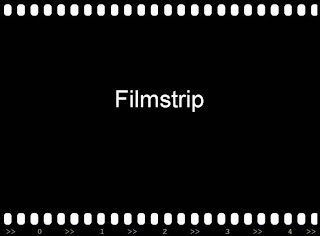 Film Strip, template powerpoint