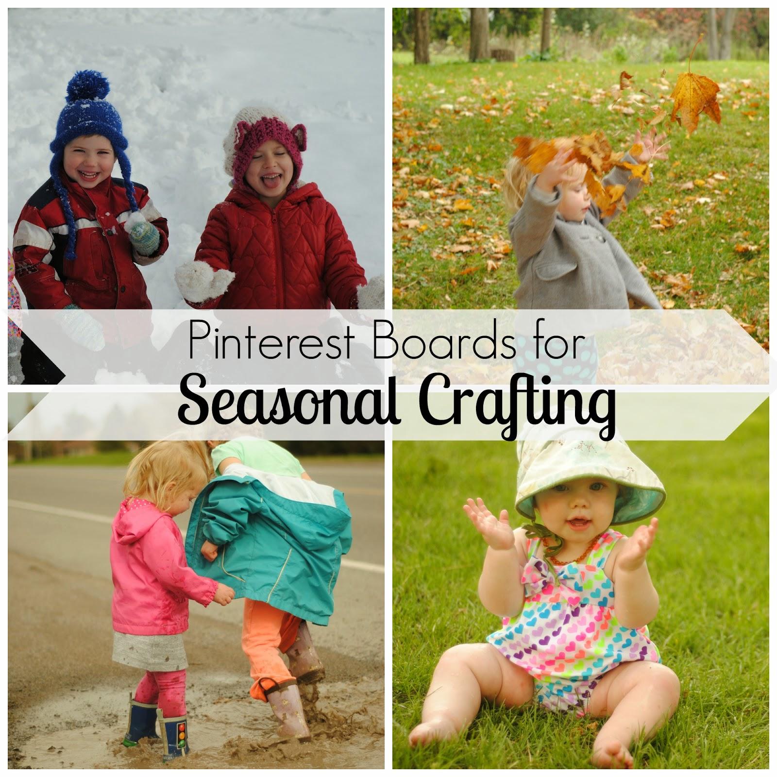 Pinterest Boards for Seasonal Crafting