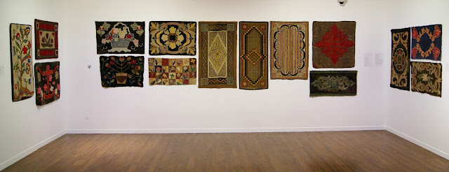Home Economics: 150 Years of Canadian Hooked Rugs Exhibit at Textile Museum of Canada in Toronto, Ontario, Canada, Exhibition, Art, Fabric, Rural, Landscape, Offsite Design Festival, ArtMatters, Culture, The Purple Scarf, Melanie.Ps