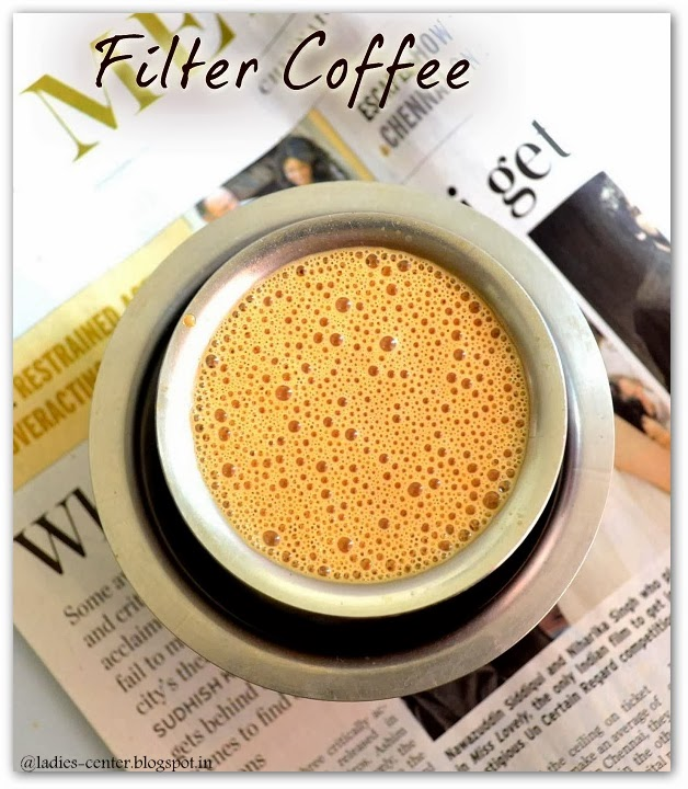 how to use a south indian coffee filter