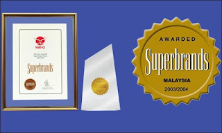 premium beautiful superbrands award