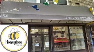 Honeybee patisserie storefront
